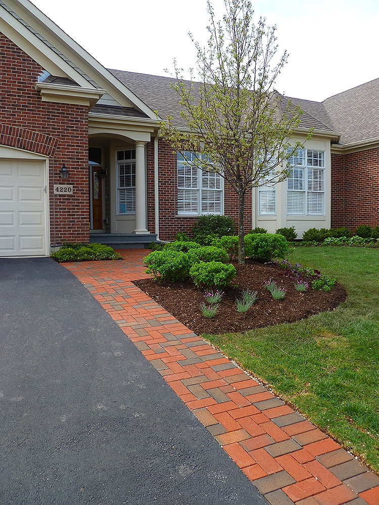 Brick Paver Driveways Evergreen Landscape