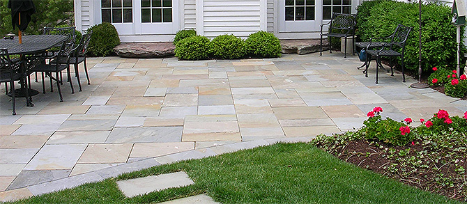 - Considering A Flagstone Patio? - Evergreen Landscape