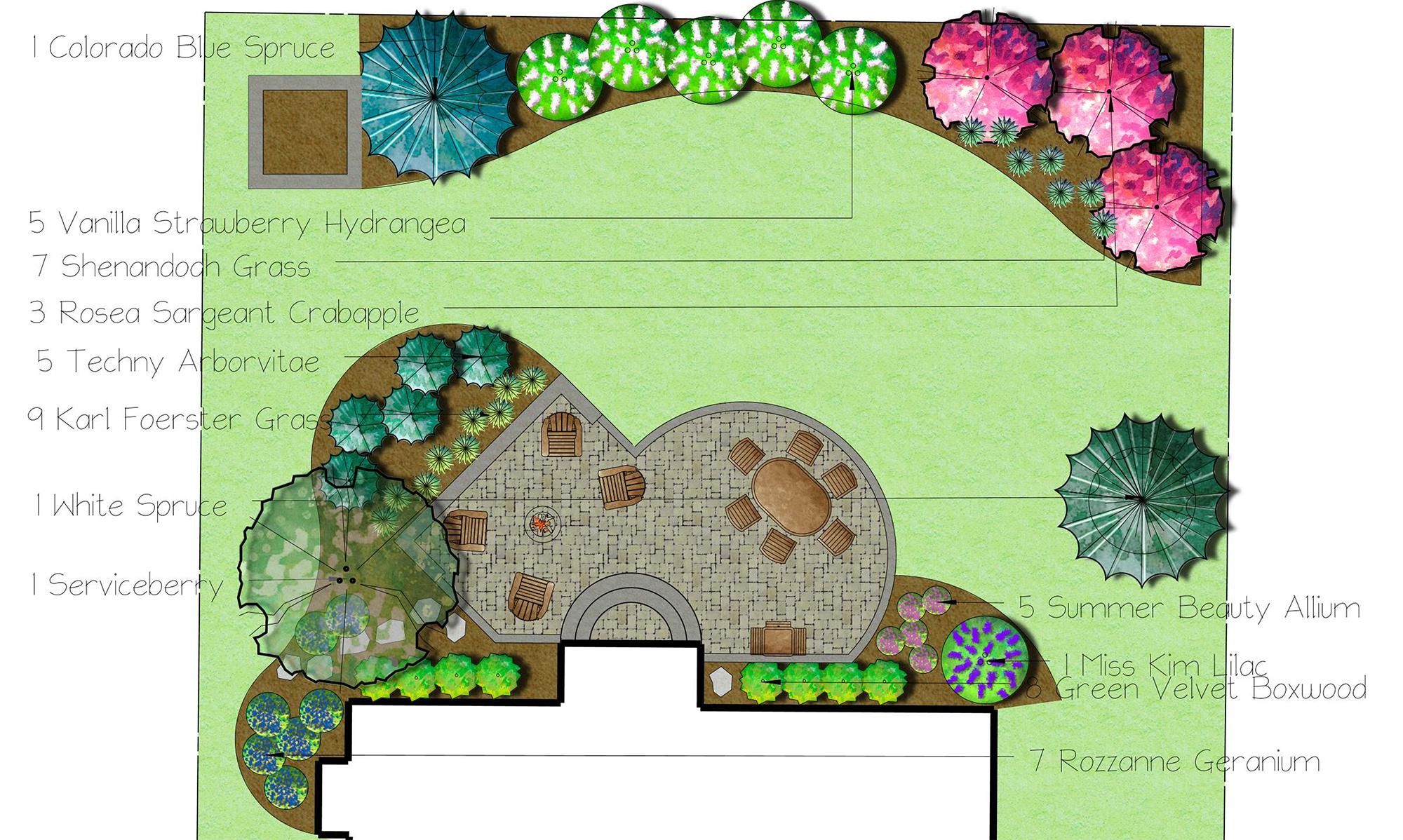 Landscaping Design Plan