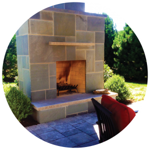 Patio Design Outdoor Fire Place