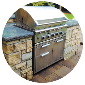 Patio Design Outdoor Kitchen BBQ Grill