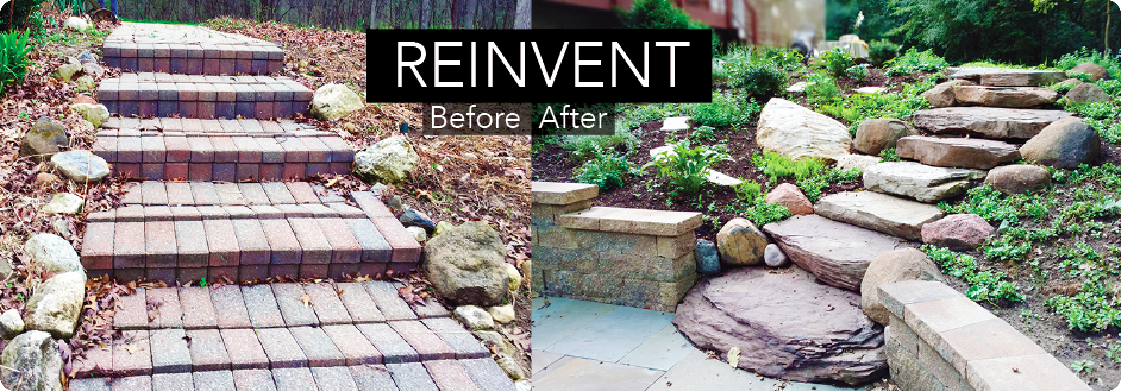 Before After Patio Stone