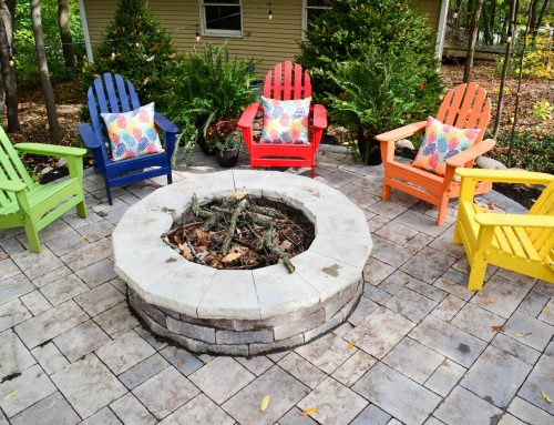 Hampshire Backyard Fire Pit Ring